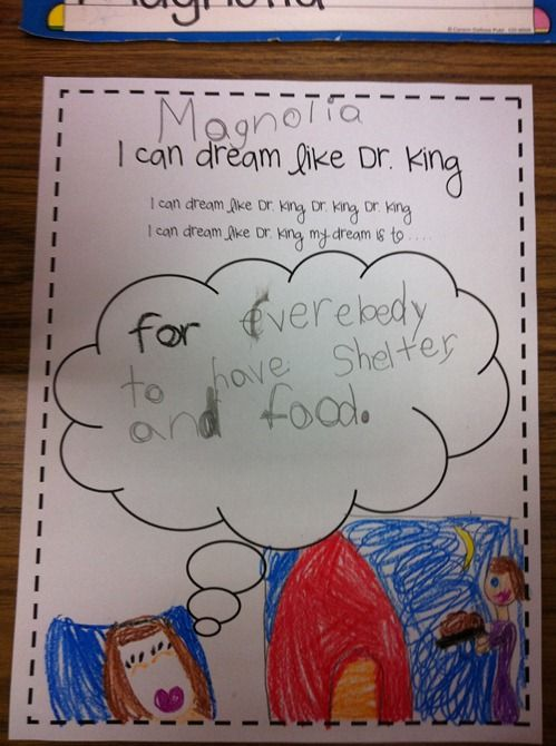 Great Dr. Martin Luther King activity.  Do with Martin's Big Words