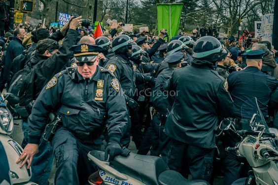 EXIT STRATEGY - Composition Monday #PhotoOfTheDay #SMYNYC #NewYork #newyorkcity #NYC #Drumpf #DumpTrump #LoveTrumpsHate #policebrutality #ftp #fuckthepolice #policeterror #streetphotography #2016 #Art #ErikMcGregor #Photography   © Erik McGregor - erikrivas@hotmail.com - 917-225-8963