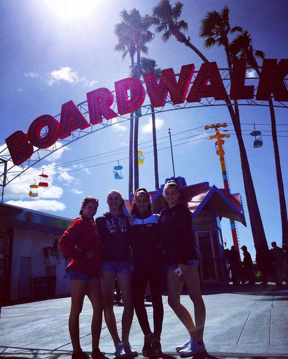 Santa Cruz CA: First day of spring break so I took the crew to Santa Cruz #santacruz #boardwalk #beachtherapy by misterrific