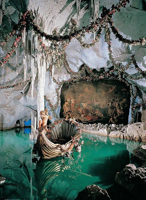 Schloss Linderhof Facelift Fur Die Venusgrotte Die Facelift Fur Linderhof Schloss Venusgrotte Art And Architecture Beautiful Architecture Scenery