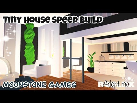 Adopt Me Modern Tiny House Speed Build Adopt Me Modern House Roblox Aesthetic Home Youtube Modern Tiny House Sims House Design Home Roblox