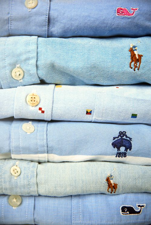 Preppy Brands // Ralph Lauren // Vineyard Vines // Brooks Brothers // Kiel James Patrick