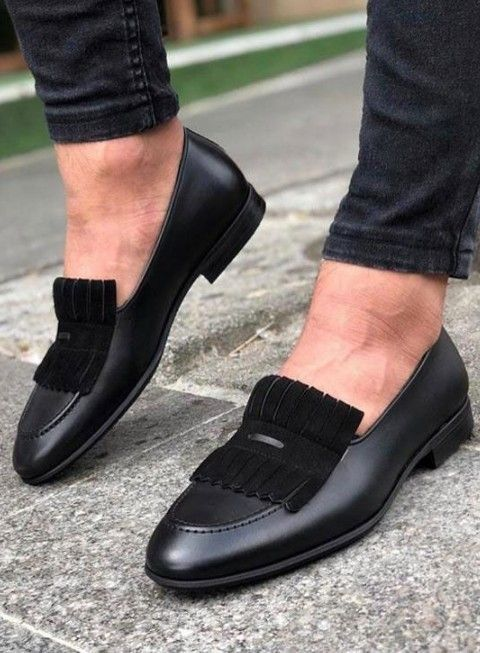 Penny loafers, Suede leather shoes