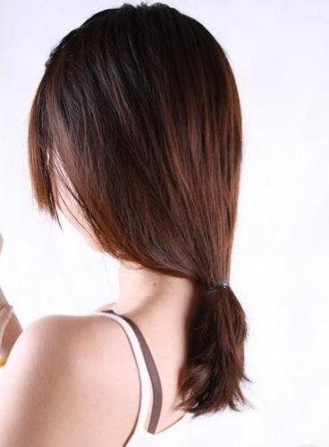 cách buộc tóc mái đẹp