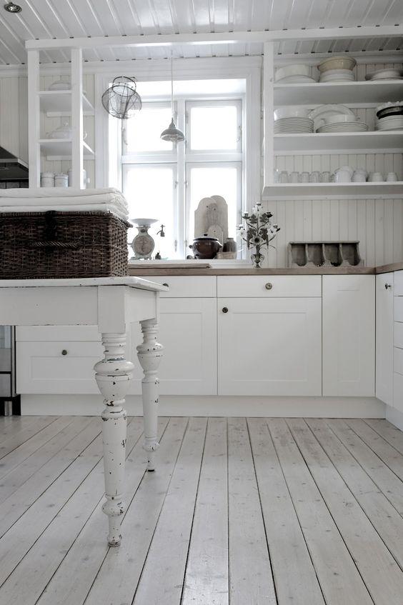 Cottage style kitchen   Kitchen ideas   Pinterest   Estanterías ...