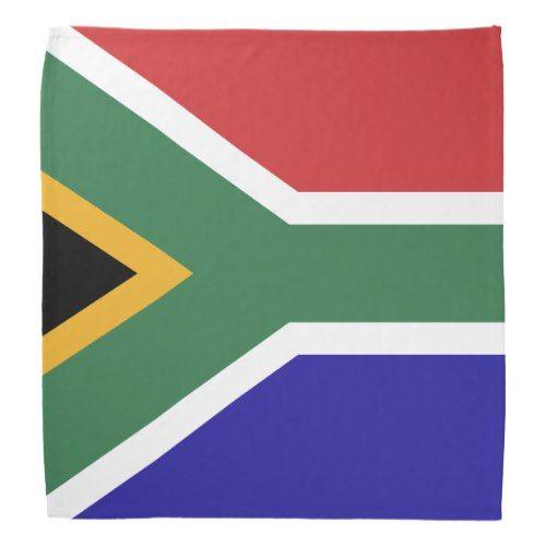 South Africa Flag Bandana Zazzle Com South Africa Flag Africa Flag Flag Bandana
