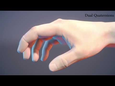 2013 - Implicit Skinning: Real-Time Skin Deformation with Contact Modeling - YouTube