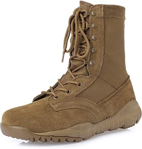 Enjoy exclusive for KaiFeng Military Tactical Combat Working Boots online -  Findandbuytopstyle in 2020 | Mens military boots, Army boots, Military boots