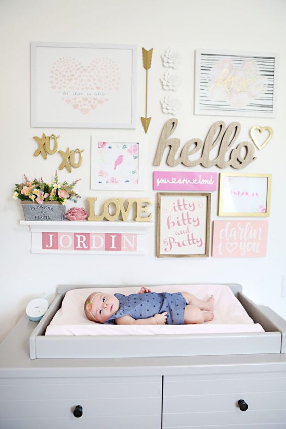 That nursery gallery wall is so gorgeous!