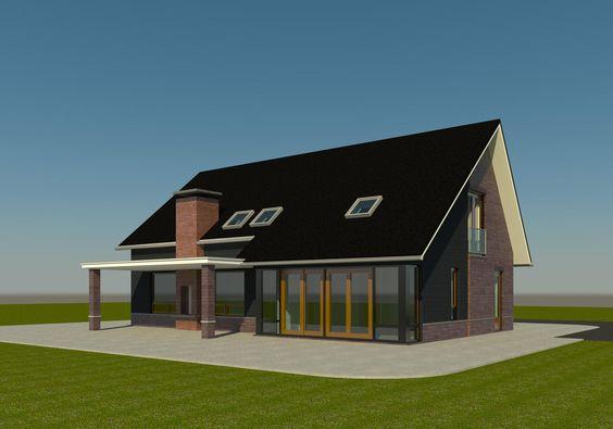 Schuurwoning woonsubliem huis bouwen villa modern 1 jpg pixels villas pinterest for Modern huis binnenhuisarchitectuur villas