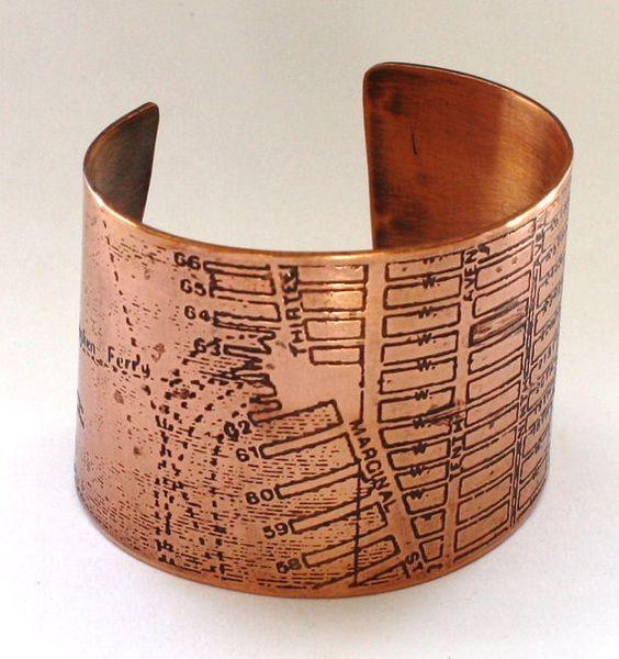 i love copper jewelry