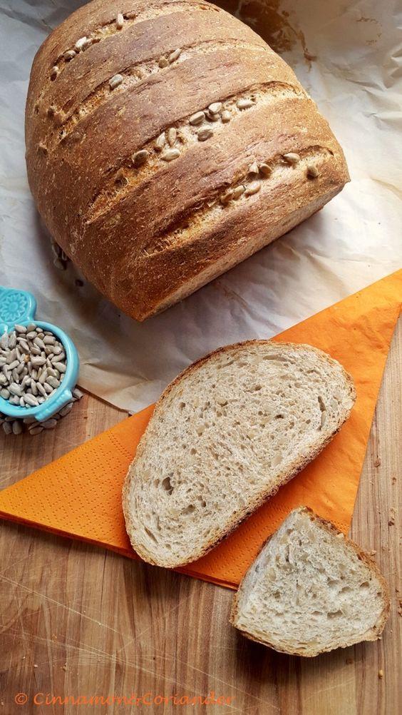 bestes Sonnenblumenkern Brot - ein schnelles und einfaches Rezept