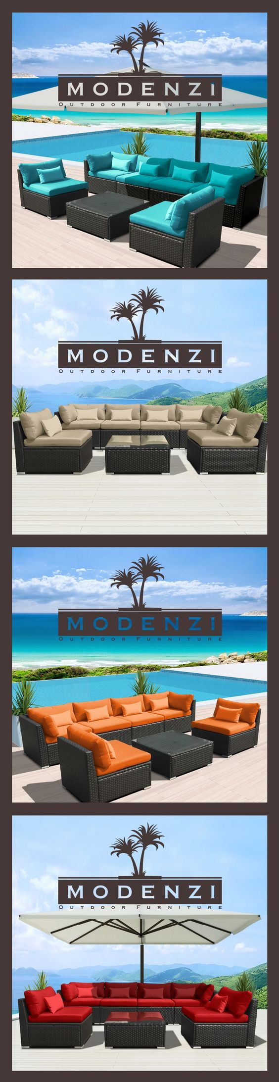 for a limited time 599 modenzi 7pc outdoor patio furniture