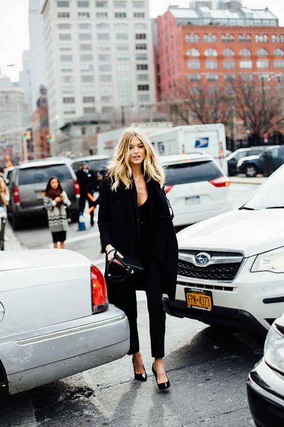Street Style New York Fashion Week, febrero de 2016 © Icíar J. Carrasco