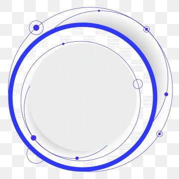 Technology Blue And White Circle Ring Round Around The Circle Border Shading Vector Free Png And Psd Print Ads Clip Art Blue Square