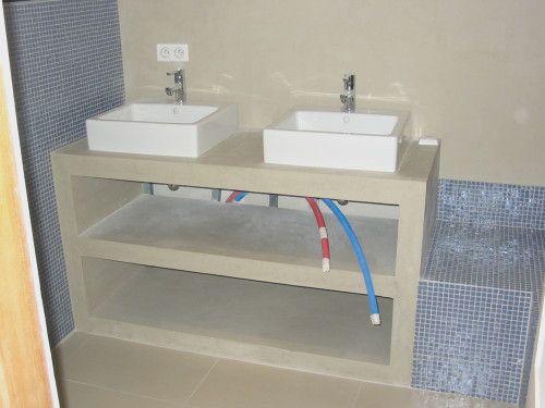 Fabriquer Un Meuble Salle De Bain En Placo Recherche Google