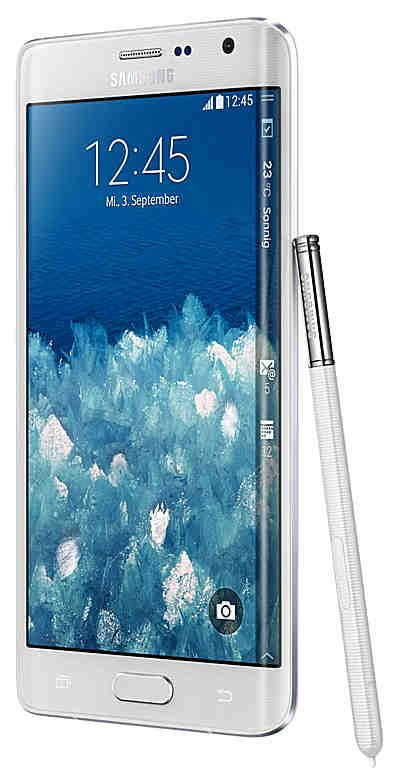 Samsung Galaxy Note edge Smartphone, 14,2 cm (5,6 Zoll) Display, LTE (4G), Android 4.4