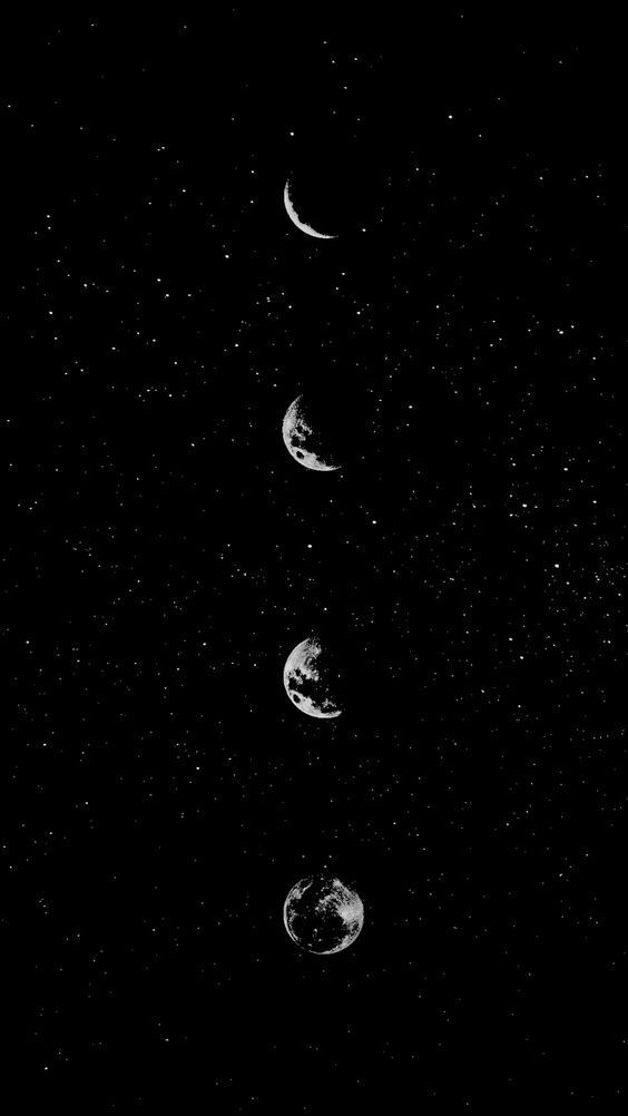 Lockscreens And Wallpapers Sorry For Being Inactive For A Month Or So I Black And White Wallpaper White Wallpaper Moon And Stars Wallpaper Galaxy cool black and white wallpaper