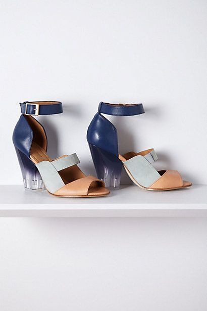 Oh, yes.  Mira Lucite Pumps - Anthropologie.com
