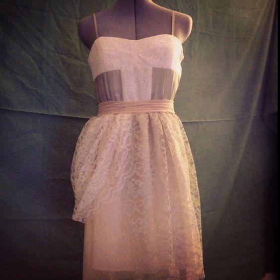 Bohemian mint lace dress