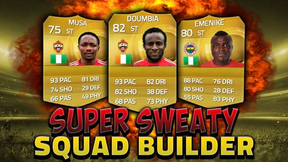 Super Sweaty Squad Builder!