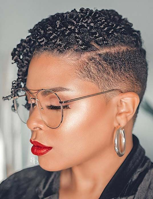 51 Best Short Natural Hairstyles For Black Women Page 4 Of 5 Stayglam Short Natural Haircuts Natural Hair Styles Short Natural Hair Styles