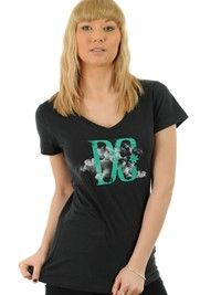 DC Black Weather Womens T-Shirt | DC | FreestyleXtreme