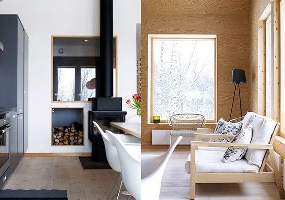 modernist cabin
