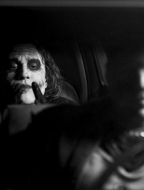 Heath ledger// The Dark Knight