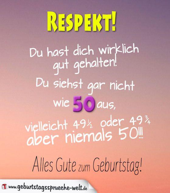 Geburtstagskarten 50 Geburtstag Text Inspirational 50 Geburtstag