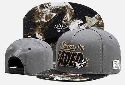 New Hip Hop Men/'s CAYLER Sons Cap adjustable Baseball Snapback Street Cool hat