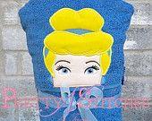 Princess Cindi Peeker Applique Embroidery Design (5X7 Hoop)