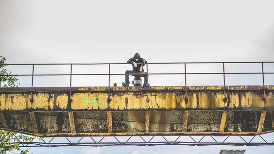 factory ❘❙❚ industrial ; toonzshop ; alternativ style ; rusty bridge ; abandoned place ; underground style ;