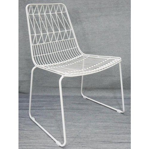 Bend Wire Lucy Dining Chairs Stackable