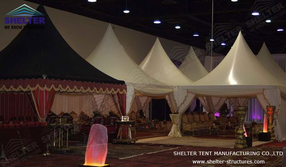 Similar to other gazebo tents constructed by Shelter Tent, the main framework of this gazebo tent for sale is hard pressed extruded aluminum alloy #exhibitiontent #exhibitiontents #outdoorexhibition #eventmarquees #commercialtent  #tentforsale  #luxurywedding #dreamwedding #weddingmarquee #displaytent #tentfordisplay #outdoorexhibition #benzcarshow #cocktailparty #outdoormeeting #customdesign #tentforsport #familyreunion #familycatering #homeparty