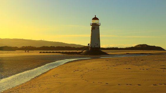 Talacre Beach Lighthouse (2) by David Griffiths (Wrexham) on 500px