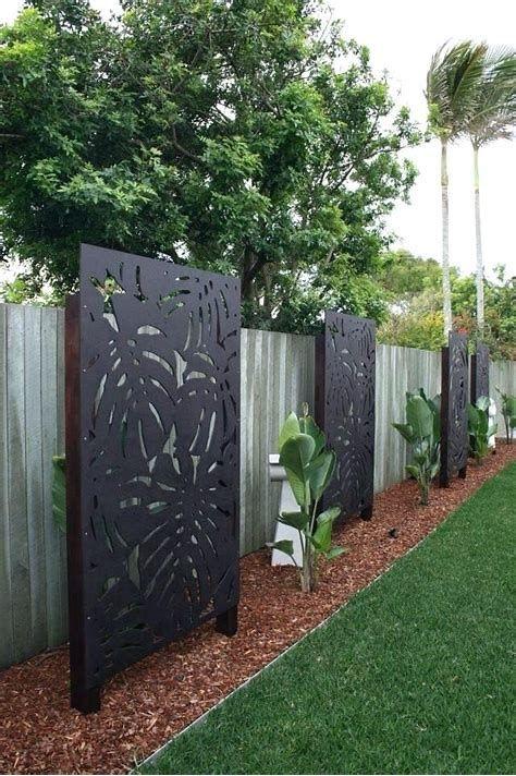 20 Outdoor Decorative Privacy Panels, Decorative Outdoor Screens