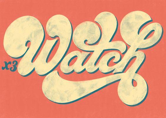 Inspiração tipográfica retrô #1 ~ De volta ao retrô