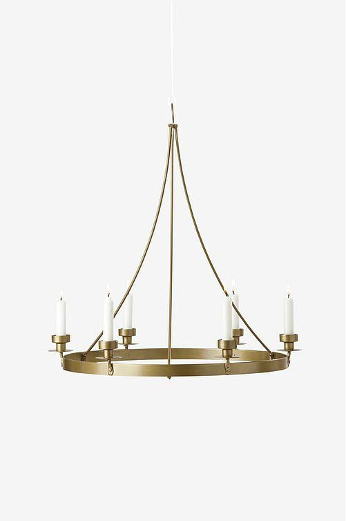 Linden Chandelier: Modern 5 light Asymmetric Chandelier