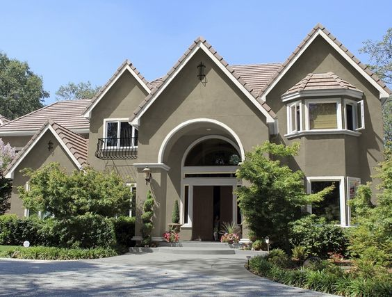 Kelly Moore Exterior Color Scheme Paint Colors Stonegate Frost Oxford Brow