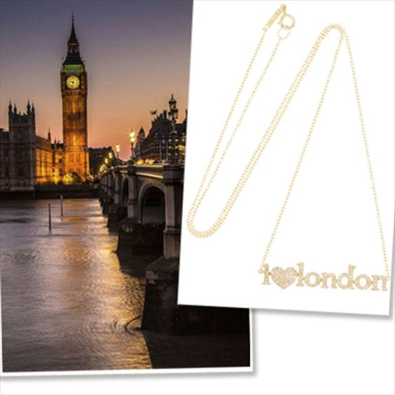 city themed necklaces