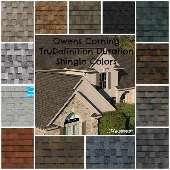 Roof Color Owens Corning Trudefinition Duration Shingles