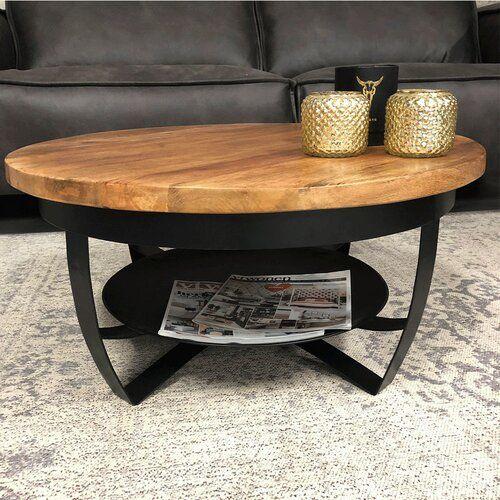 Jaxen Coffee Table With Storage Williston Forge Size H43 X L90 X