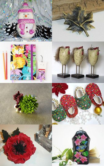 Christmas gift ideas by Tania on Etsy--Pinned with TreasuryPin.com