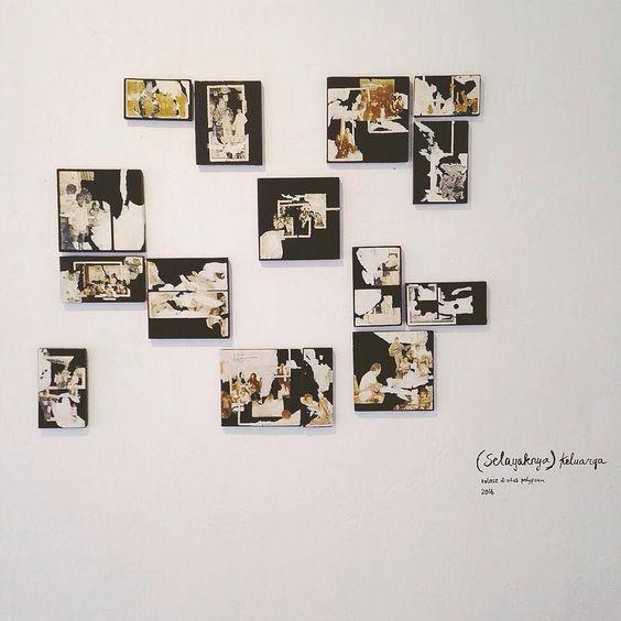 Sejumput cerita dari #suARTrip ke pameran #awaksuar Karin Josephine di @lirspace berjudul Terali Memori. . Kenangan dibangun oleh kenang-kenangan kecil yang menggenang dan terkadang tak ada benang merah yang menyambungkan jaringan ingatan. . #TeraliMemori adalah rekaman tentang kenang-kenangan pikiran kecemasan kemarahan dan segala perasaan yang mengisi perjalanan. Kenang-kenangan kecil seperti foto keluarga kertas kemasan karat kota juga beragam pecahan-pecahan pengalaman baik dan buruk…