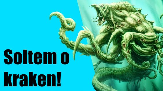 Soltem o Kraken - Lula gigante encontrada