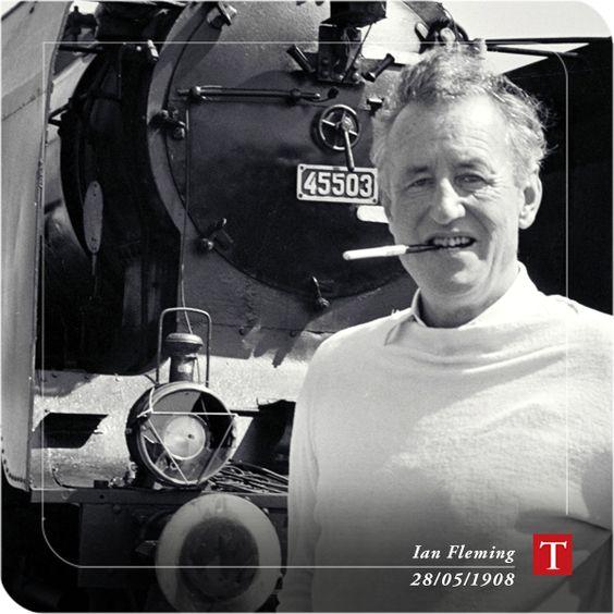 Ian Fleming 28/05/1908  www.travessa.com.br: