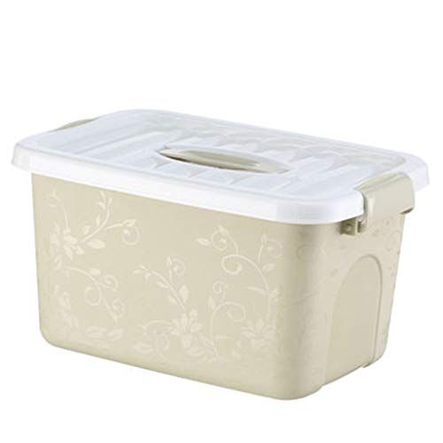 Yellow Small Medium Large Plastic Storage Box Multi Function