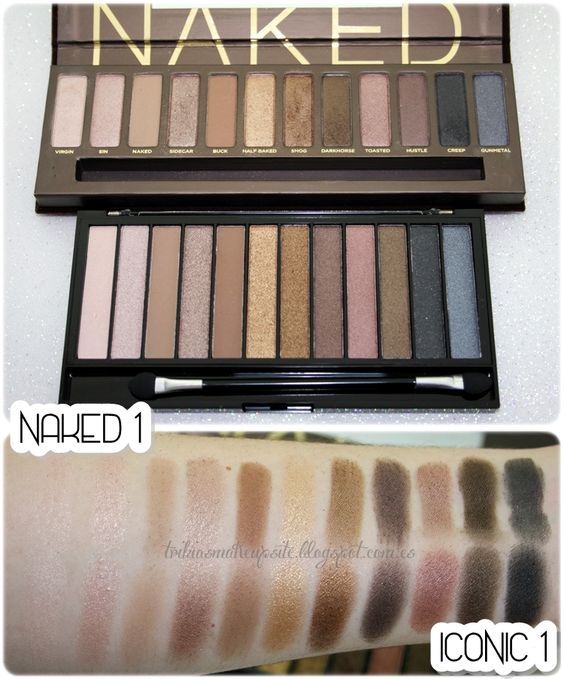 **Trihias Make Up Site**: #346 ★ ¡ALERTA CLON! | URBAN DECAY Naked vs MAKEUP REVOLUTION Iconic ★