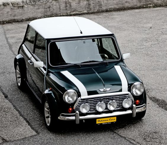 Icon on wheels. Let's be honest - there's nothing like it! It brings out the best in people! Stylish, chic and so confident in itself! Mini Cooper Monte Carlo